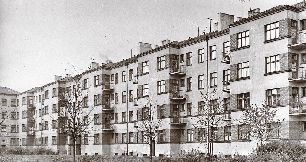 Pilsētas blokēka J. Asara ielā, 1929. g., arh. O. Tīlmanis.