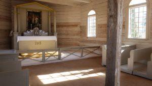 Bērzpils kapličas restaurācija