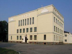 Arhitekts Indriķis Blankenburgs. Apes Dāvja Ozoliņa valsts pamatskola, 1938. g. Tagad — Dāvja Ozoliņa Apes vidusskola. Foto: Artis Zvirgzdiņš