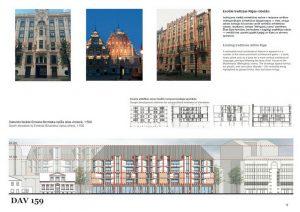 Studentu mājokļu kompleksam Birznieka Upīša ielā. 1. vieta — MJP Architects
