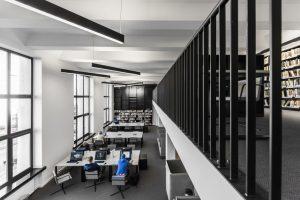 Lietuvas Nacionālās bibliotēkas ēka. Pārbūves arhitekti: 2XJ