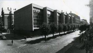 Edgars Šēnbergs. Rīgas 7. vidusskolas (tag. Natālijas Draudziņas vidusskola) piebūve. 1981
