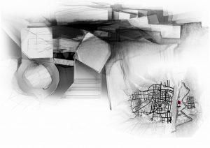 Havannas projekts. Konceptuāls jumta plāns transporta mezglam