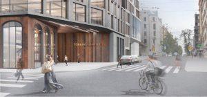 Konkursa projekts Kimmel kvartālam. Veicināšanas prēmija. Autori: Lauder Architects; Ainavu projektēšanas darbnīca Alps; Sarma & Norde Arhitekti