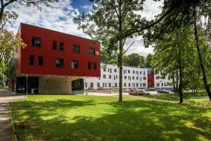 Stradiņa Universitātes dienesta viesnīca — arhitekti: NAMS