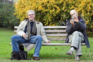 Vladis Neilands un Andis Sīlis, 2006. Foto: Dženeta Katlapa