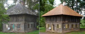 Lielplatones vešūža restaurācija — Artūrs Lapiņš
