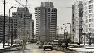 Arhitektes Lidija Plakane, Olita Upaciere. Dzīvojamās mājas Purvciemā. 1983