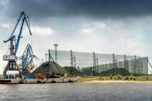Vēja barjera Krievu salā