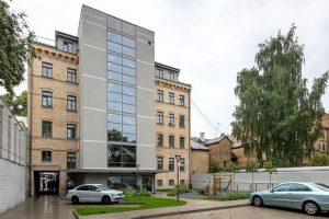 Ēka Tallinas ielā 65. Arhitekti: Fabrum — Jānis Rinkevičs, Elīna Znotēna, Skaidrīte Kassaliete, Uldis Logins