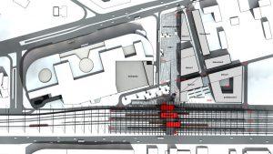 3+1 arhitektid — Ilemistes stacijas konkursa priekšlikums, 2014