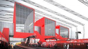 3+1 arhitektid — Ilemistes stacijas projekts, 2017