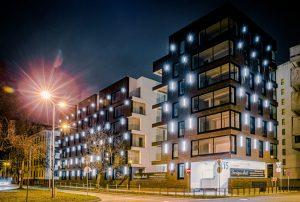Kuģu iela 15, Rīga, pasūtītājs Kuģinieks, projekts SARMA & NORDE Arhitekti, būvnieks Aimasa, būvuzraudzība Apreks