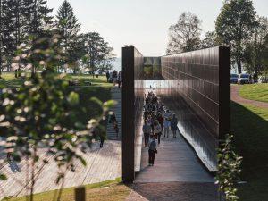 Komunisma upuru memoriāls — JVR Arhitektid + Ninja Stuudio + Stuudio Truus. Foto: Tõnu Tunnel
