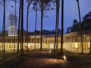 Arvo Pērta centrs — Nieto Sobejano Arquitectos. Foto: Roland Halbe