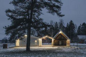 Sauna Lusthones sētā — Peeter Pere Architects. Foto: Tarvo Hanno Varres