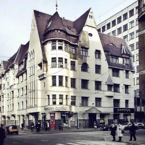 Eižens Laube. Krastkalna nams Brīvības ielā 47, 1908