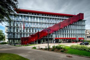 Red Line biroju ēka — NRJA