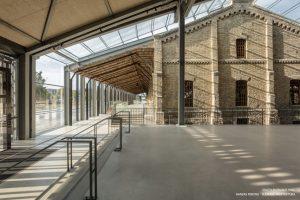 Hanzas perons — Sudraba arhitektūra