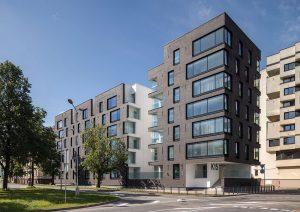 • Daudzdzīvokļu nams Kuģu ielā — Sarma & Norde