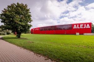 Iepirkšanās centrs Aleja — MG arhitekti