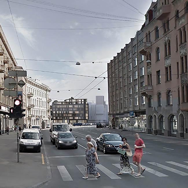 Miera iela 1 — Lauders Architecture - A4D c99a3f86c3